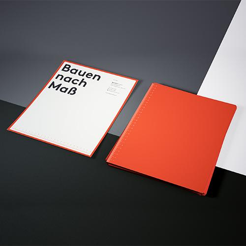 Corporate Design für Bau Hoch Drei – Bauträger Pforzheim