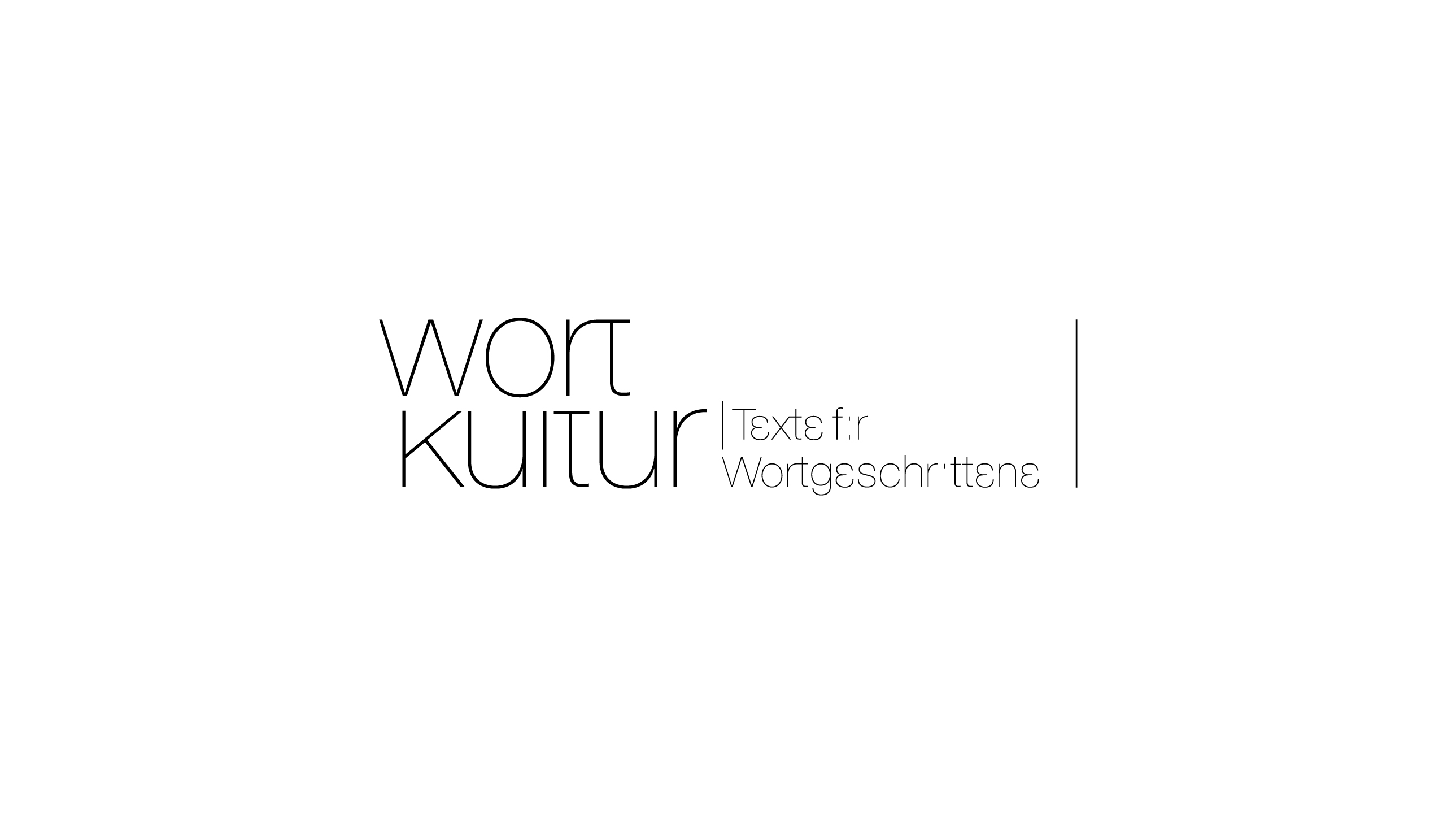 Wortkultur Dr Ana Kugli Corporate Design Logo Gestaltung