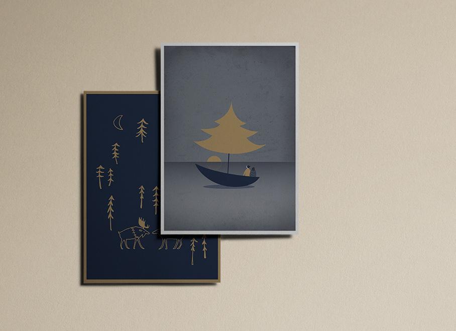 3DMBO-Studio-für-Gestaltung-frohe-Weihnachten-postkarten-Weihnachtspost