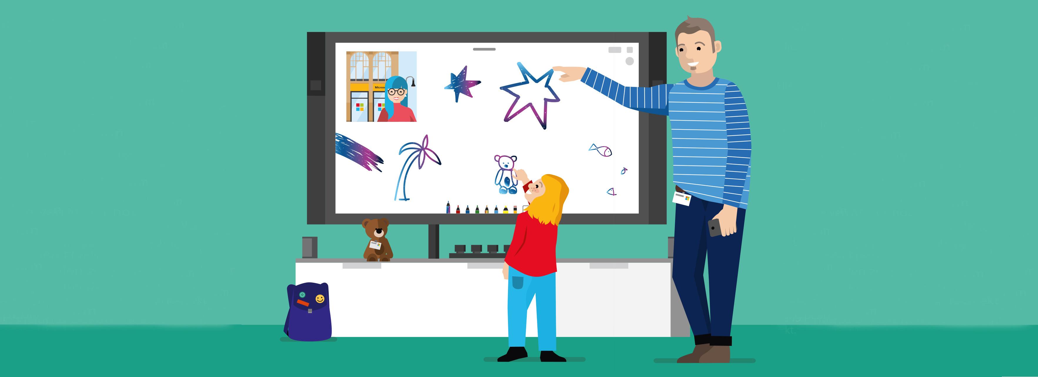 5DMBO-Studio-für-Gestaltung-Pforzheim-Microsoft-Illustration-Kinder-Buch-Illustratives