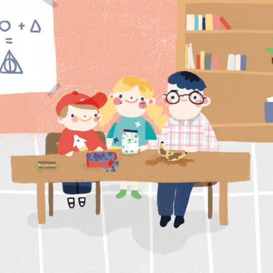 5DMBO-Studio-für-Gestaltung-Pforzheim-agora42-Erbsengrün-Illustration-Kinder-Buch-Illustratives