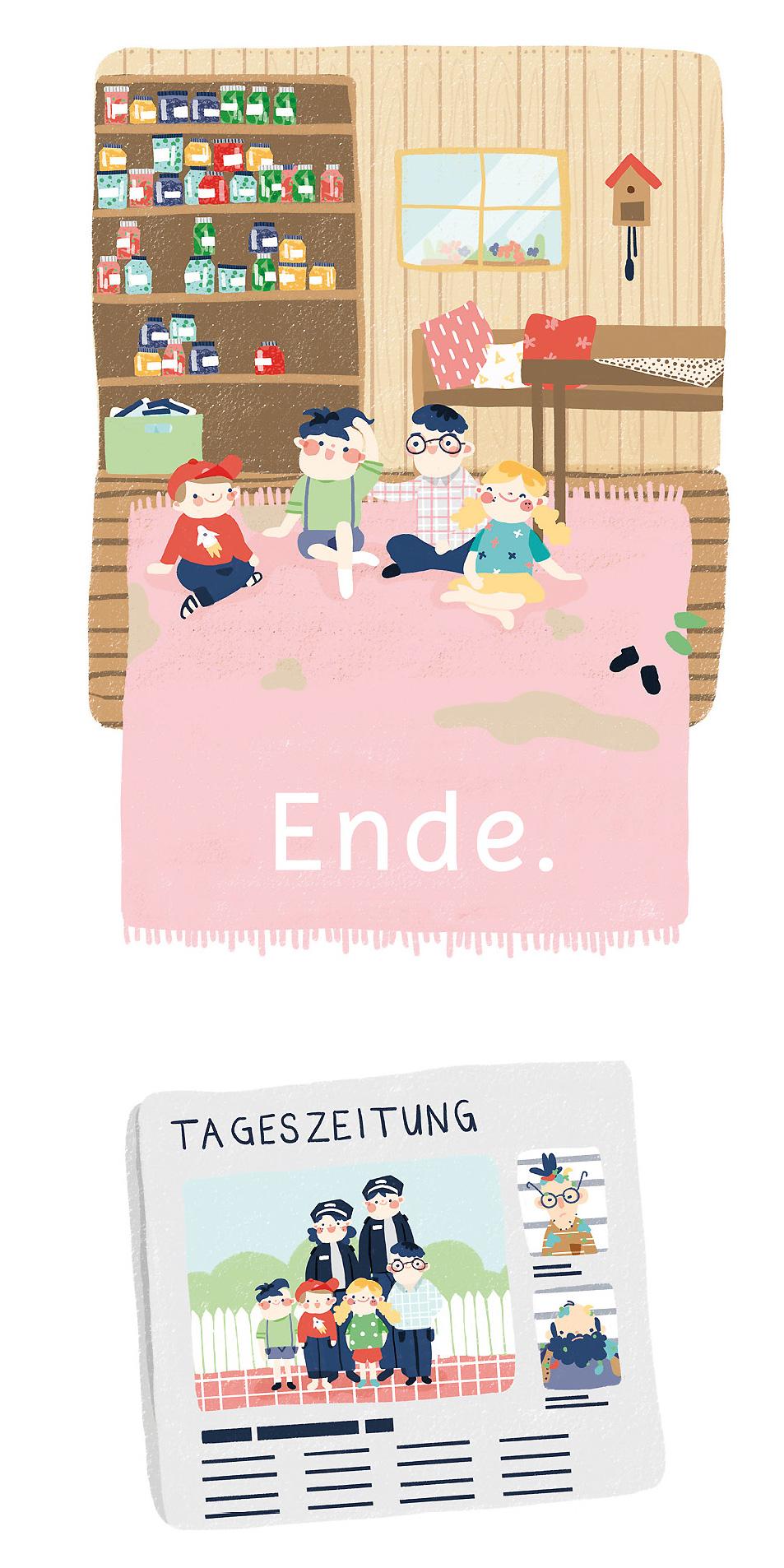 7DMBO-Studio-für-Gestaltung-Pforzheim-agora42-Erbsengrün-Illustration-Kinder-Buch-Illustratives